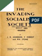 C. L. R. James-Raya Dunayevskaya-Ria Stone - The Invading Socialist Society (First Ed. - 1947)