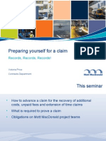 Presentation - Preparing Yourself For a Fee Claim.ppt