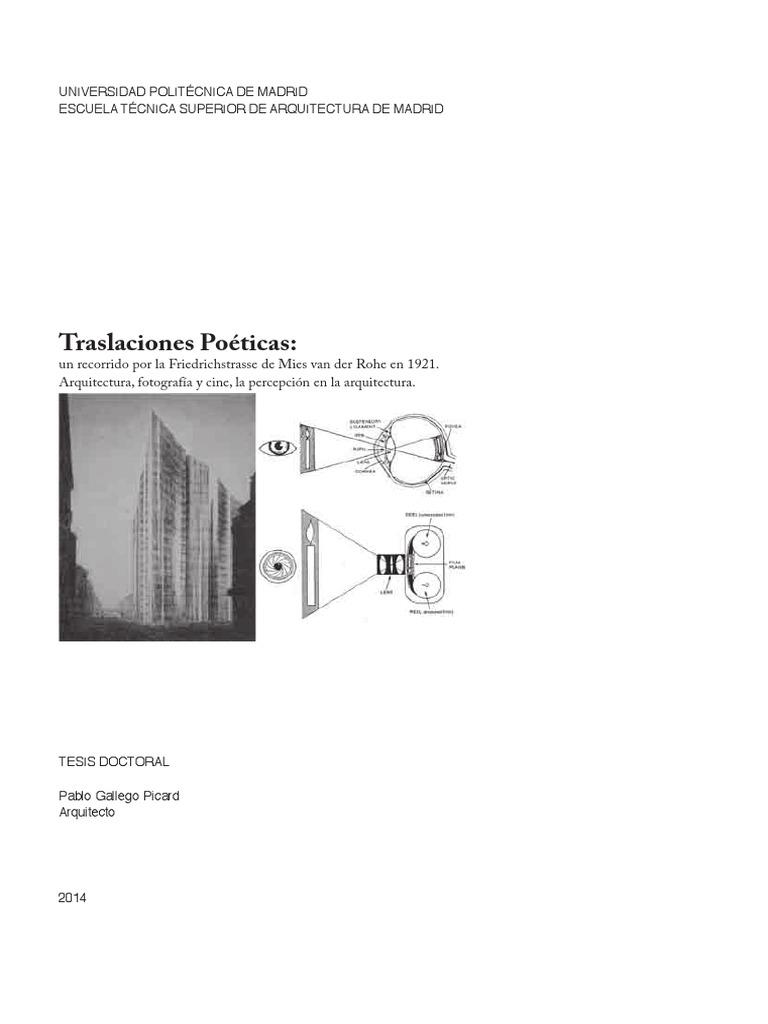 Pablo Gallego - Traslaciones Poéticas, Arquitectura, Fotografía y ...