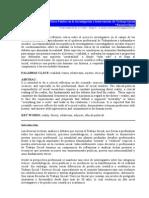 Eucaris Olaya. Perspectiva Ético-política en La Investigación e Intervención Del Trabajo Social