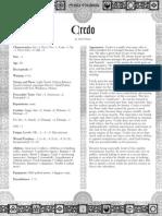 Credo - The Paid Ne'Er-do-well