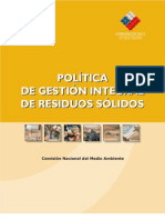 politica nacional respel