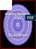 Planetary Meditation Tiles by Culture Demon
