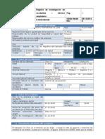 R-HSE-HEI-029 Registro de Investigación de Accidentes - Informe Ampliatorio Por Terminar