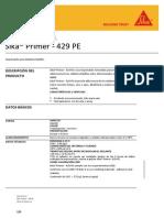 Sika Primer 429 PE - Imprimante Para Productos Sikaflex