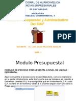 Módulo Presup y Administrat