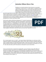 Search Engine Optimisation Milano Bruce Clay