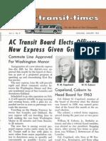 Transit Times Volume 5, Number 9