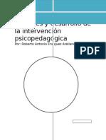 Orígenes y Desarrollo de La Intervención Psicopedagógica