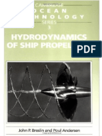 Hydrodynamics of Ship Propellers-Cambridge OceanTechnology Series 3