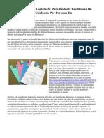 La Unión Europea Legislará Para Reducir Las Bolsas De Plástico Hasta 40 Unidades Por Persona En