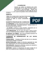 La Narracion y La Descripcion 2015 (2)