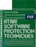 Atari Software Protection Techniques (Apaha Systems)