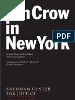 Jim Crow in NY