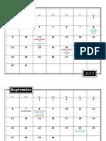 2016 route 66 calendar