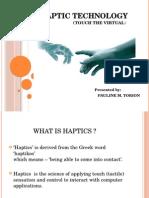 Haptic Report