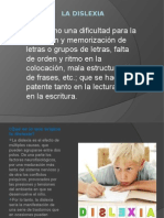 Diapositiva de La Dislexia