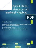 China, Hindú, Áraba y Edad Media_álgebra