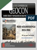 Redes Acelerograficas en El Peru-PhD Ing. Jorge Alva Hurtado