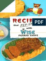 1959 Wise Recipe Book