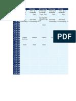Timetable Jdiiz