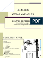 Sensores - Otras Variables