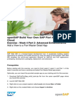 OpenSAP Fiux1 Week 4 Exercise Part 2