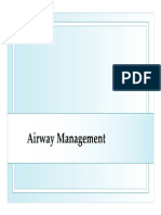 Basic Airway Management
