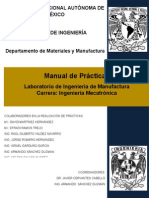 Manual de Lab. de Ingeniería de Manufactura