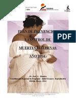 Plan de Prev y Fortalecim Muertes Maternas Mnj2014(Autoguardado)