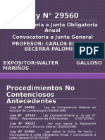 CONVOCATORIA A JUNTA GENERAL DE ACCIONISTAS VIA NOTARIAL