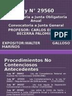 CONVOCATORIA A JUNTA GENERAL DE ACCIONISTAS VIA NOTARIAL