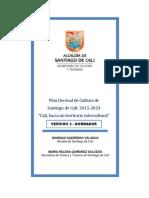 Plan Decenal de Cultura de Santiago de Cali