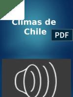 Climas de Chil