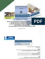 Manual de Requerimientos Academicos y Experiencia Docente 03