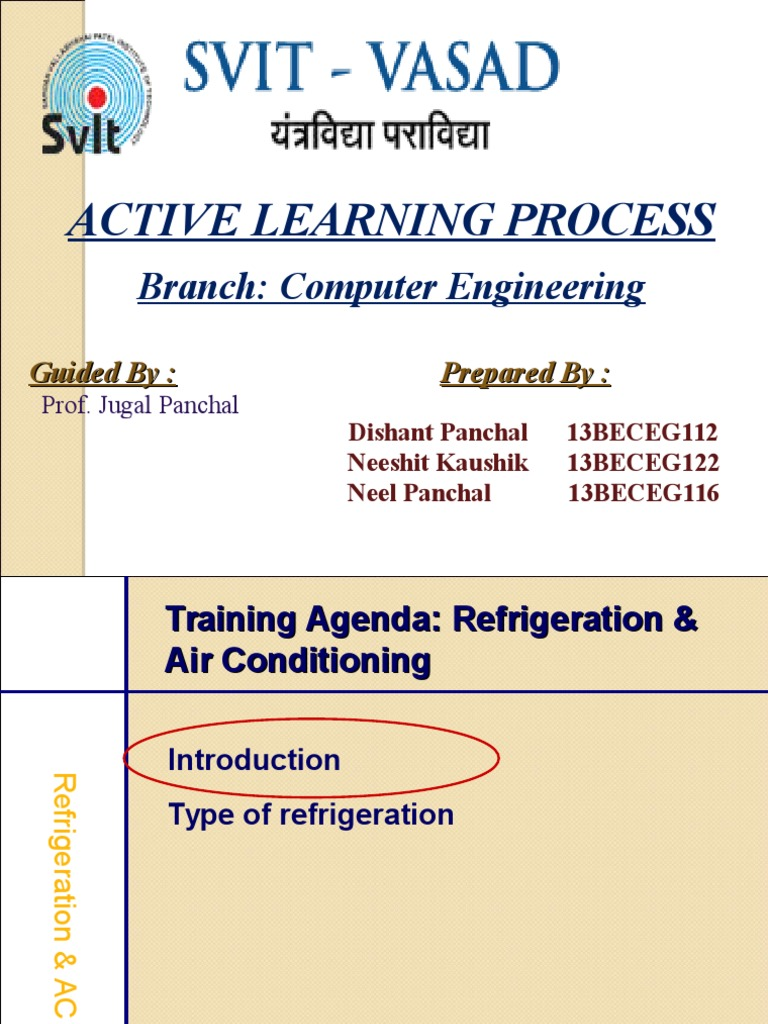 Refrigration Air Conditioning Refrigeration Electrical Engineering In And