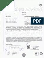 Acta 5 Comisión de Seguimiento VI Convenio Colectivo