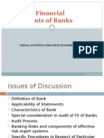 Audit of Financial Statements of Banks by sunir k dhungel.pptx