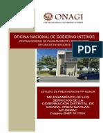 PIP 311591 Gobernación Distrital Chiara, APU
