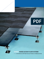 Cementitious Infill Steel Access Floor System