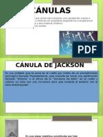 Canula de Jakcson