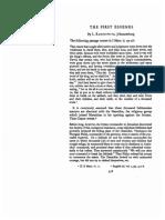 l. Rabinowitz - The First Essenes