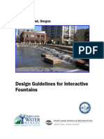 Design Guidelines for Interactive Fountains[1]