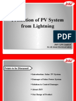 JMV's Optimum Quality Photovoltaic Surge Arrester