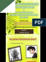PERKEMBANGAN FALSAFAH PENDIDIKAN BARAT & IMPLIKASI TERHADAP PERKEMBANGAN PENDIDIKAN DI MALAYSIA