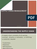 SCM CH-1 Understanding the Supply Chain