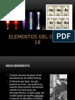 Elementos Del Grupo 18