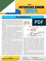 Apostila Transgênicos Aulão Jublut Biologia ENEM Feliz
