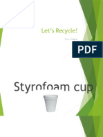 Form 1 English Recycling