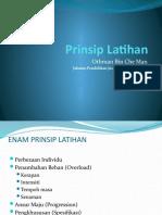 Kuliah 4 - Prinsip Latihan